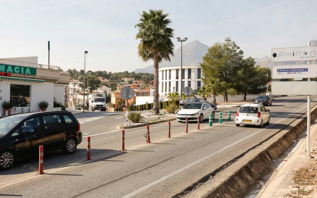 L'Alfàs solicitará a la Generalitat que construya una rotonda en el acceso a la Urbanización San Rafael