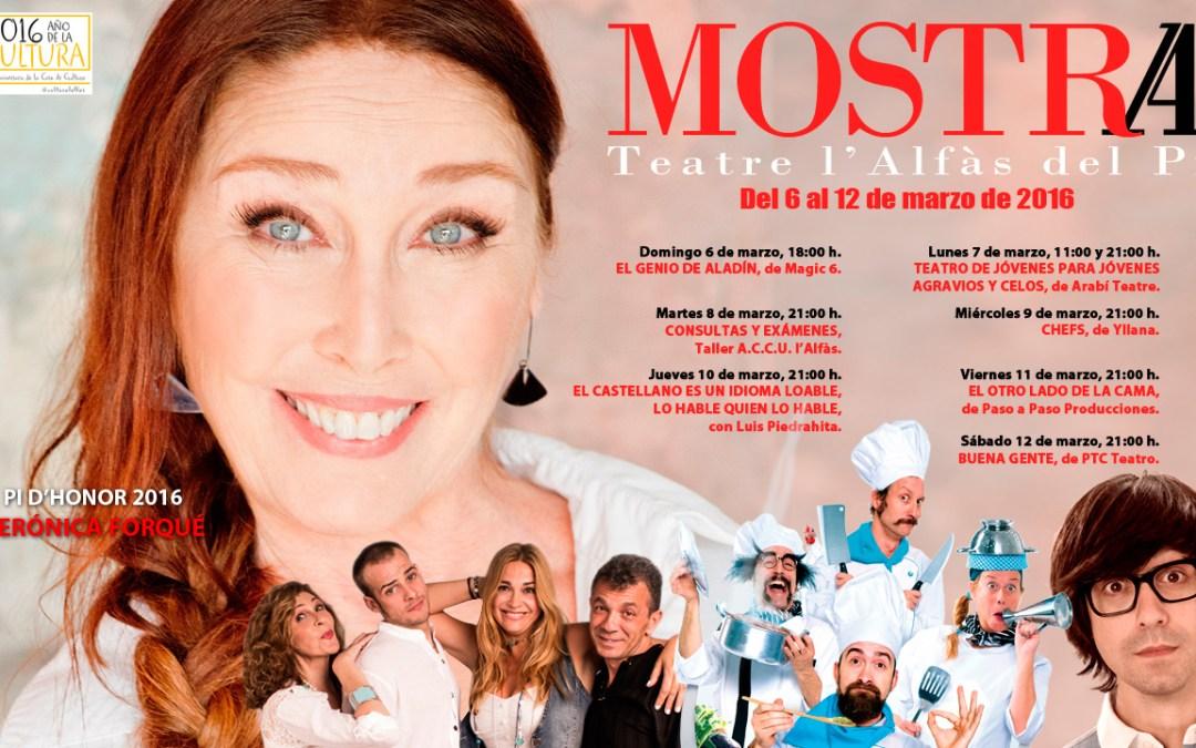 Siete obras conforman la programación de la décimo cuarta Mostra de Teatre de l'Alfàs del Pi