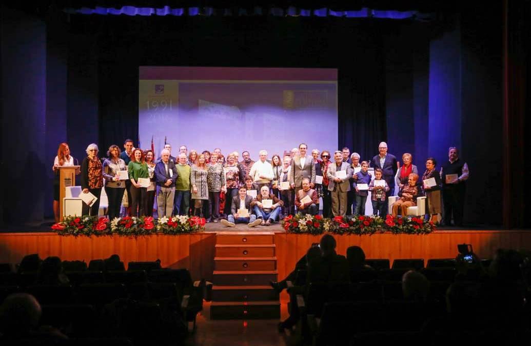 El Ayuntamiento homenajea a las personas vinculadas a la cultura local