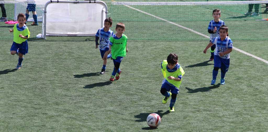 Éxito de participación y público en el primer torneo 3×3 de fútbol celebrado en l'Alfàs del Pi .