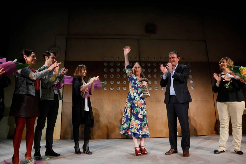 Finaliza la décimo cuarta Mostra de Teatre de l'Alfàs con la entrega del Pi d'Honor a Verónica Forqué