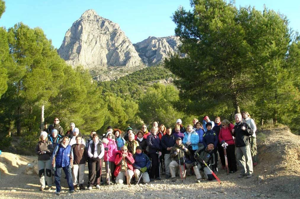 La FENWA presenta el programa de senderismo 2016 que desarrolla  con la colaboración de la Concejalía de Deportes de l'Alfàs del Pi.
