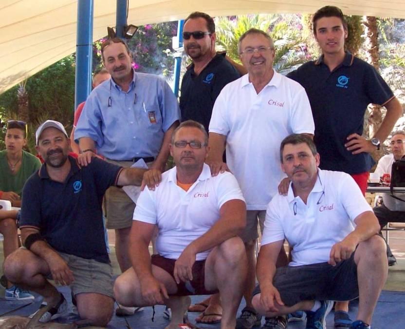"""L'Alfàs del Pi  triunfa en el campeonato de pesca de """"chambel"""" de Altea"""