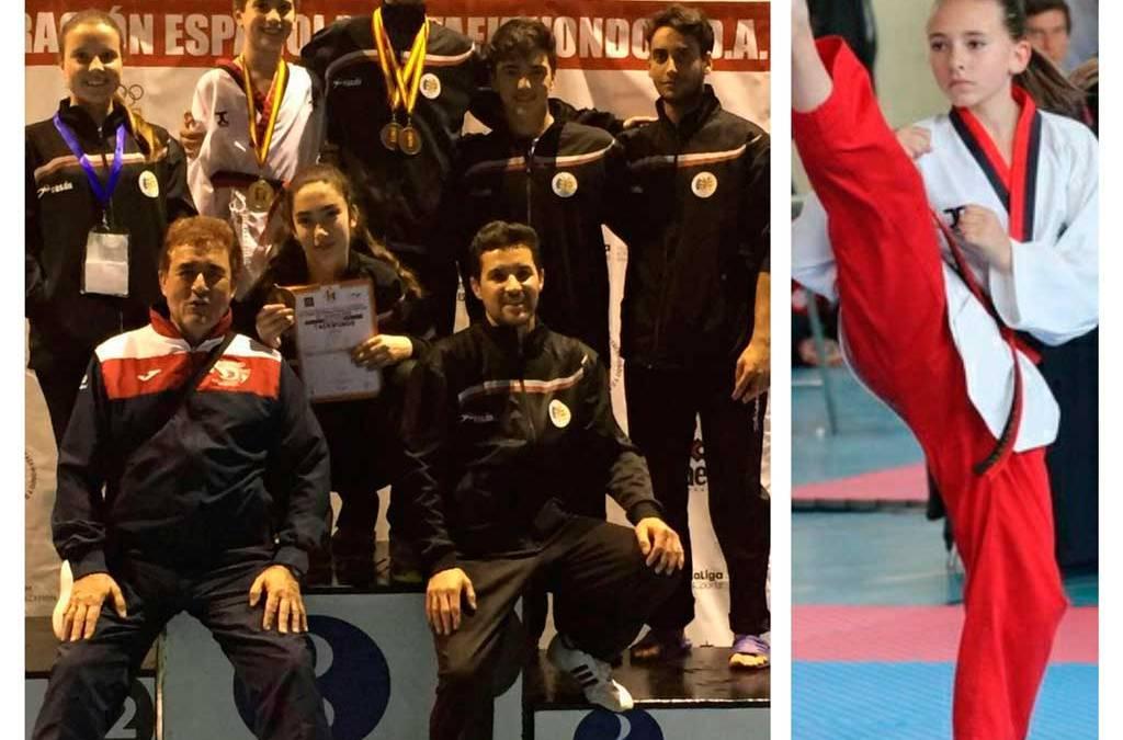 María Vidal, Jonás Miralles,  Sergi Curtis y Cecilia Reinosa han conseguido  un Oro,  tres bronces en el XIV Open Internacional de Taekwondo de España
