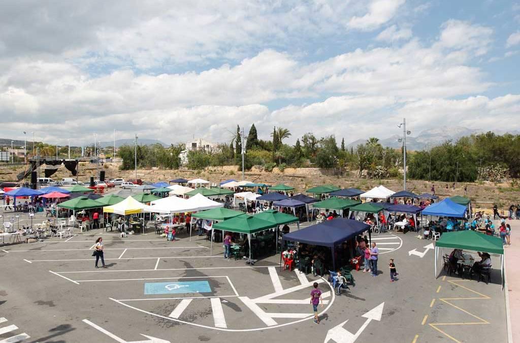 La celebración del Mig Any concentra en La Bolleta a cerca de 40 peñas