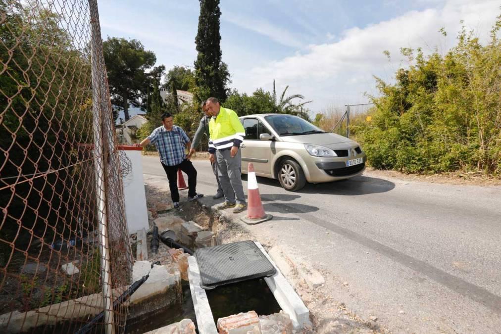 El Ayuntamiento de l'Alfàs mejora la seguridad en los caminos Volador dels Corbs y dels Alguers