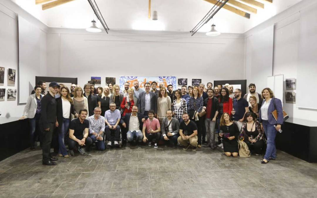 El Ayuntamiento de l'Alfàs organiza una recepción oficial para los participantes de la sección oficial de FIDEWÀ