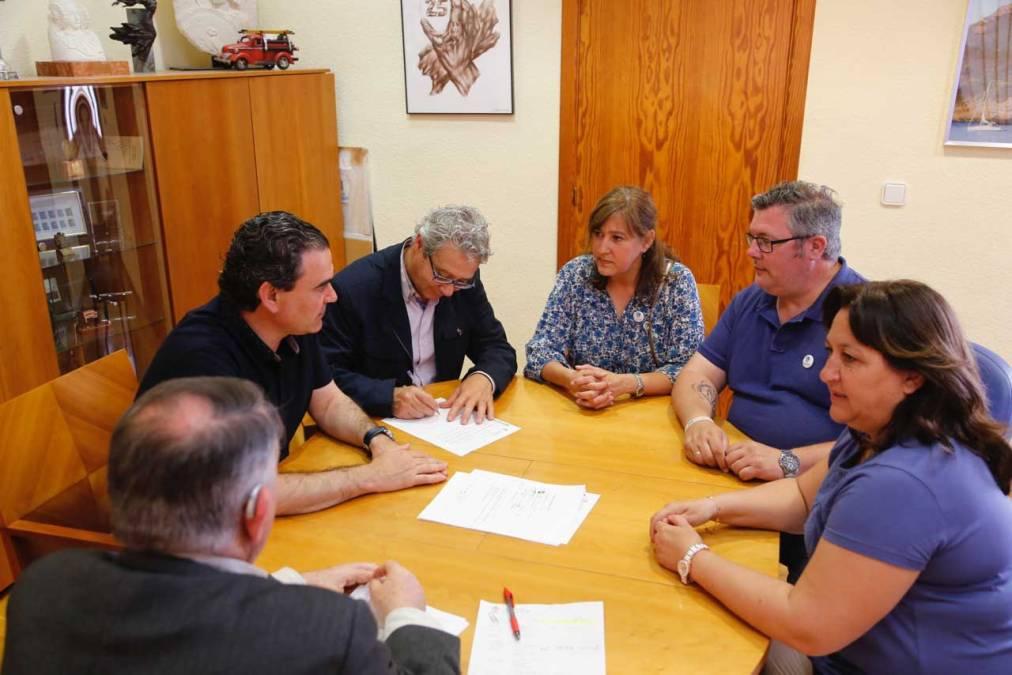 L'Alfàs del Pi abre una nueva vía de colaboración con ASPANION