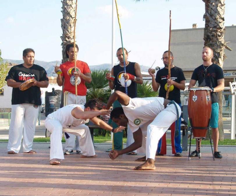 Este fin de semana se celebrará el  encuentro anual de Capoeira o de arte popular Oria Zambi