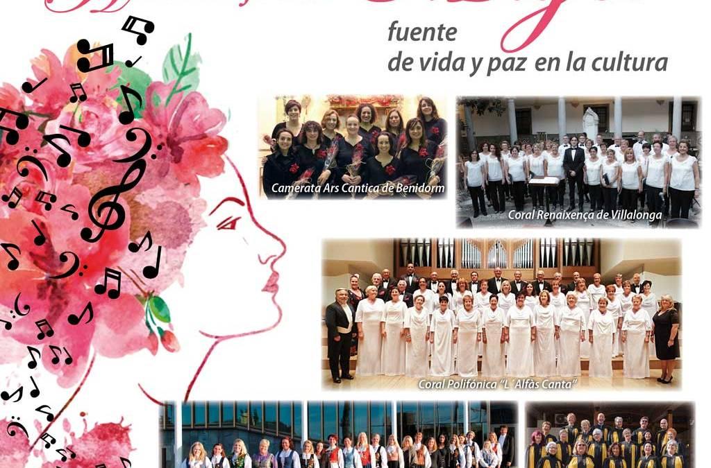 Mañana arranca el quinto Festival Internacional de Coros de l'Alfàs