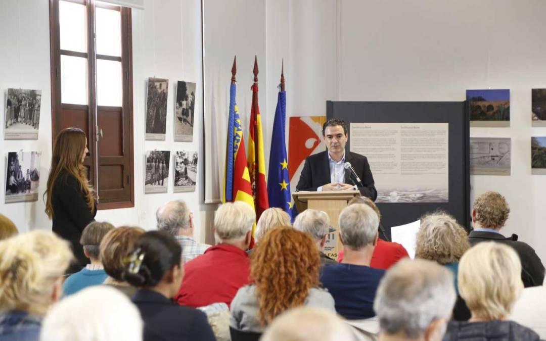 L'Alfàs del Pi hizo gala de su carácter internacional celebrando el día de Europa en el Espai Cultural Escoles Velles