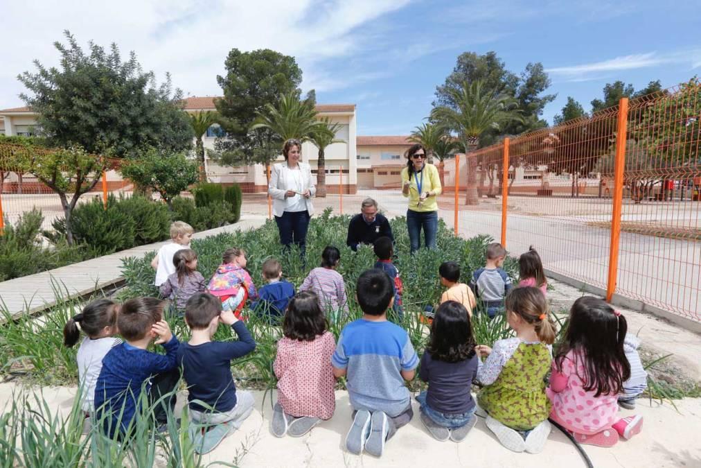 El CEIP Santísimo Cristo del Buen Acierto revitaliza su huerto escolar
