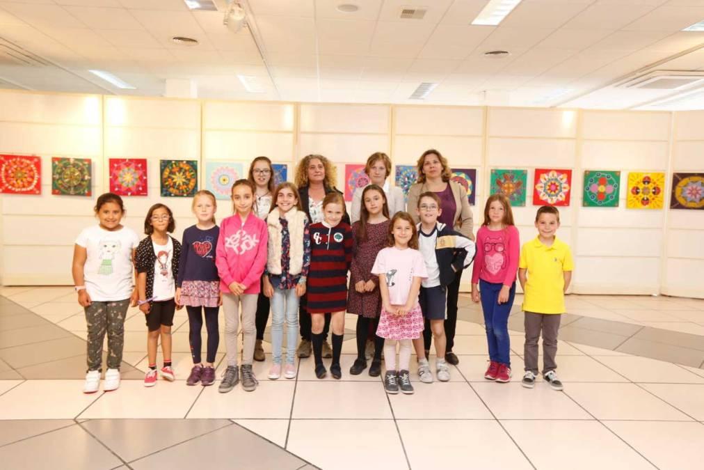Los alumnos del Programa de Pintura inauguran su exposición de Mandalas en la Casa de Cultura de l'Alfàs del Pi