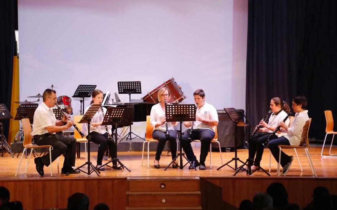 Las audiciones ponen fin al curso de la Escuela de Música de la Lira