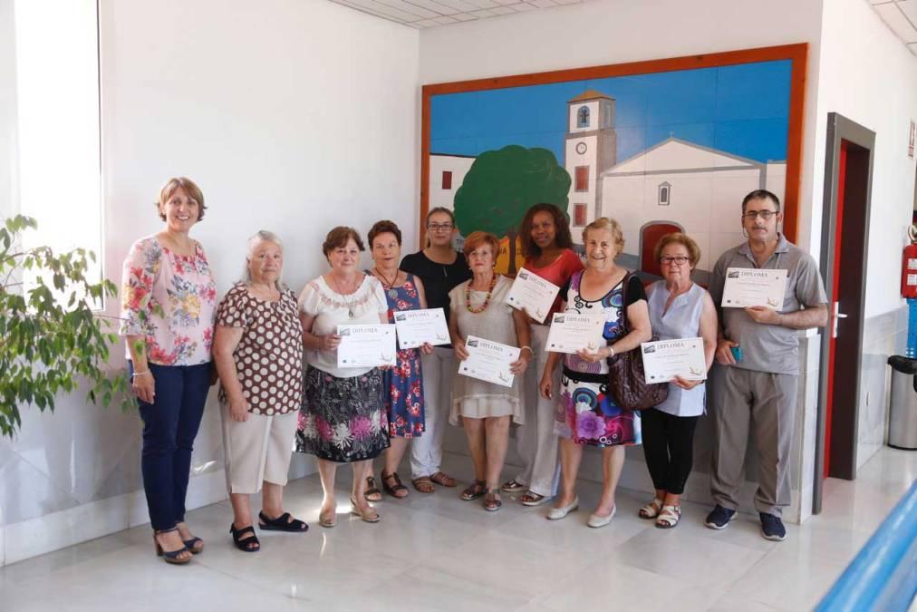 Una decena de personas finalizan con éxito el Programa de Formación Básica para Adultos