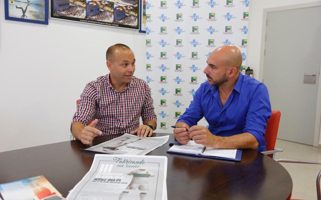 Los amantes del fútbol de l'Alfàs del Pi podrán 'fabricar su sueño' con la tercera edición del Campus del Elche CF