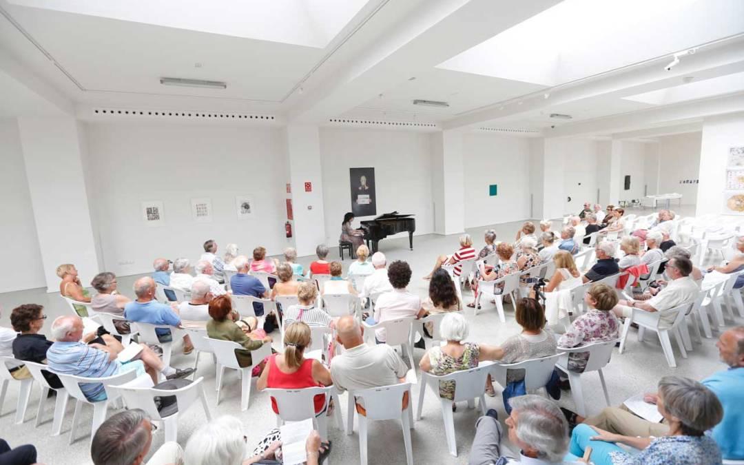 Concierto de música clásica en la Fundación Frax