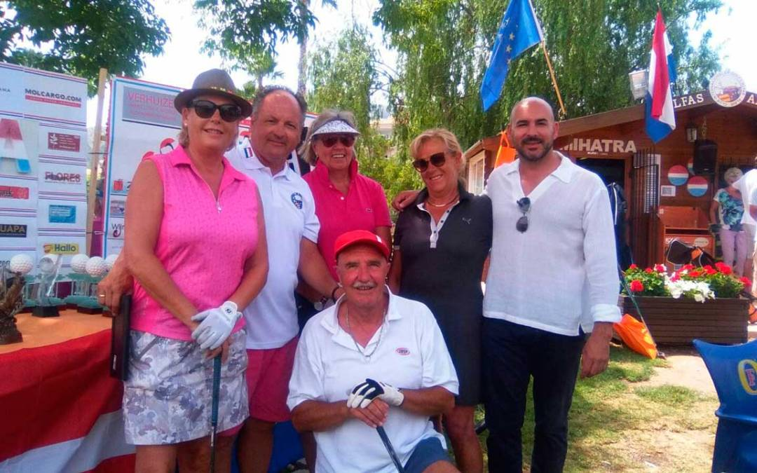Este fin de semana se ha celebrado la Copa Holanda de Golf en l'Alfàs del Pi  .