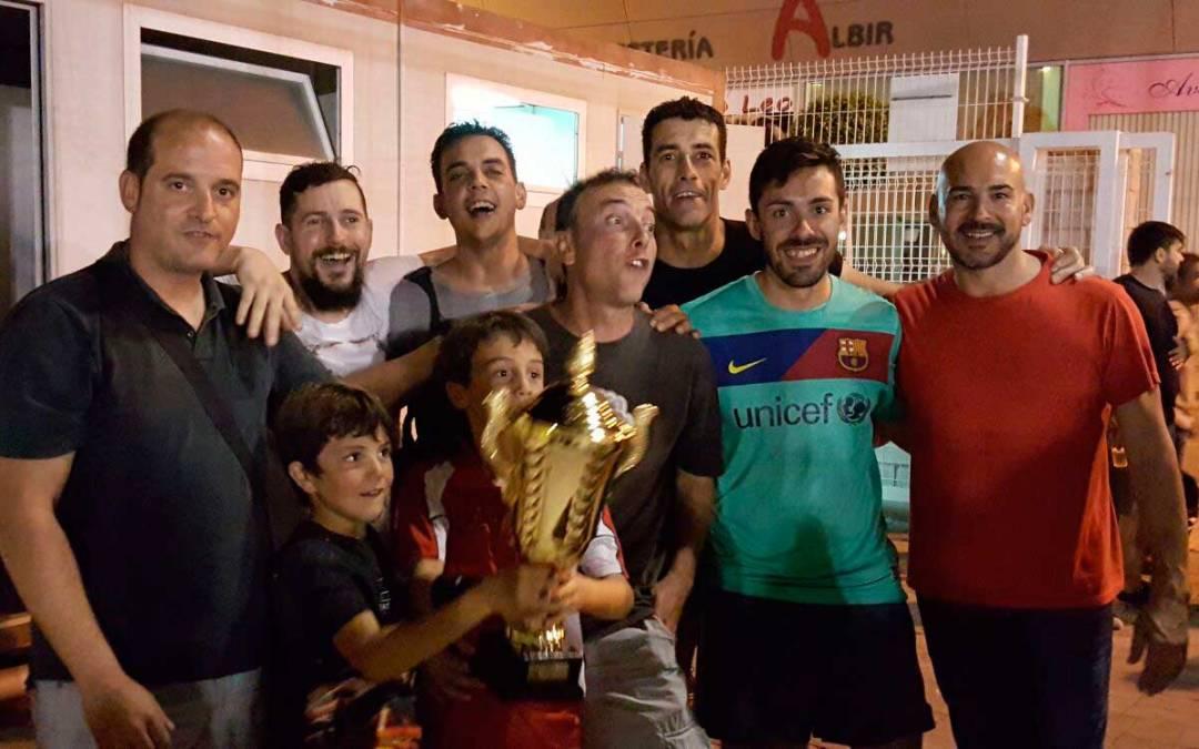 Finaliza la primera liga de veteranos de fútbol 8 de la Marina Baixa