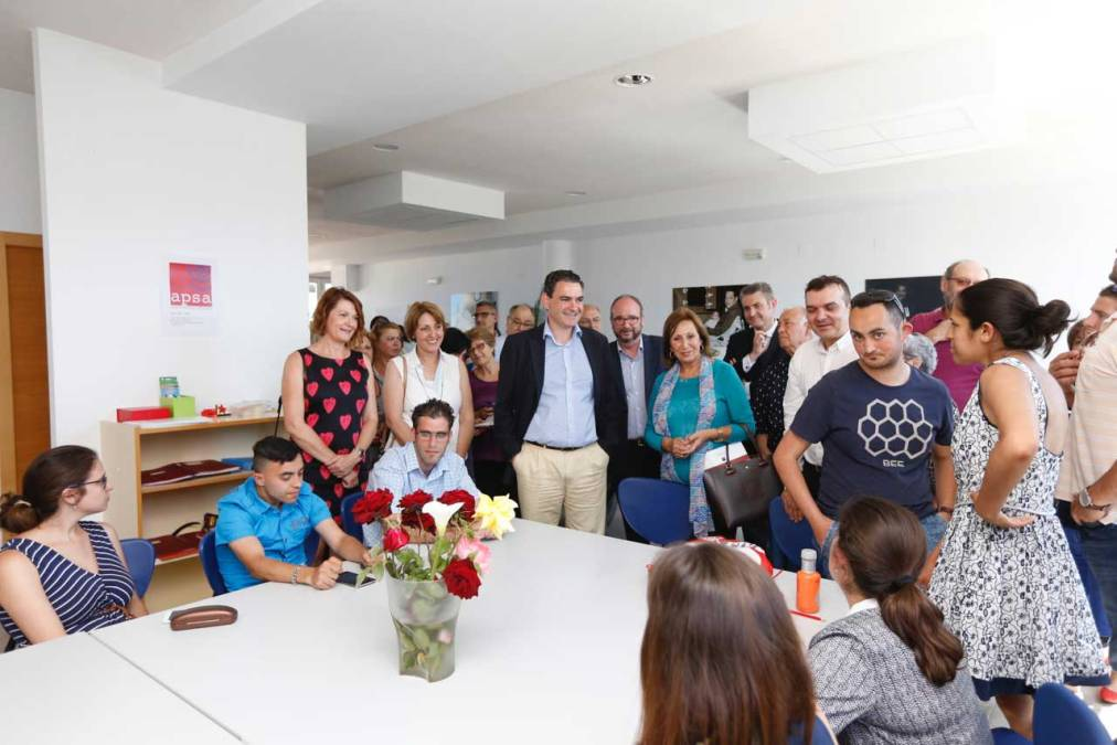 Abre las puertas en l'Alfàs un Centro de Formación Profesional para personas con discapacidad intelectual