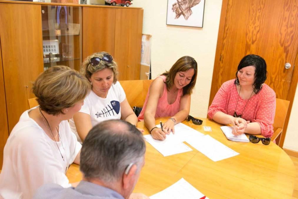 El AMPA del CEIP Santísimo Cristo renueva su convenio de colaboración con el Ayuntamiento