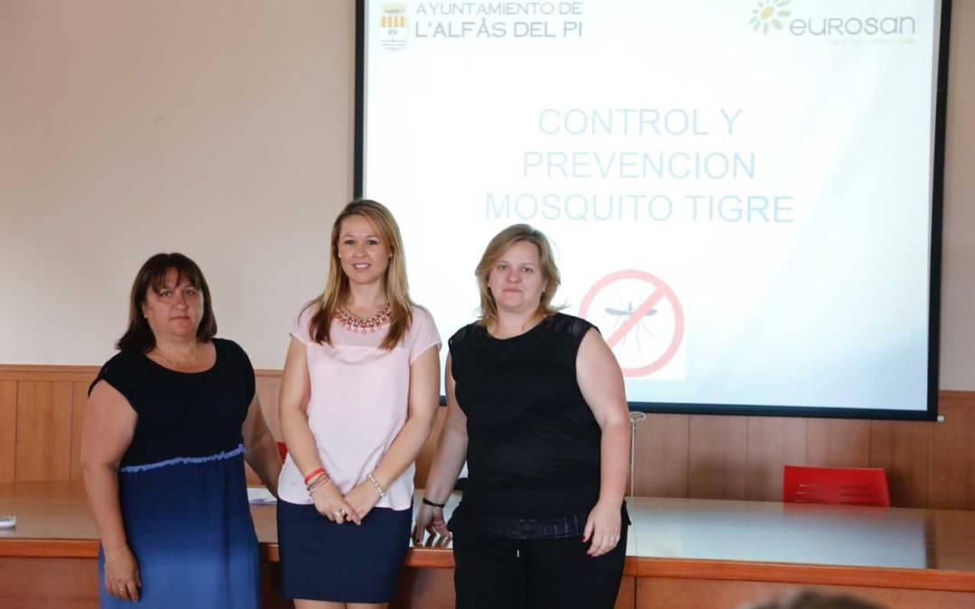 La concejalía de sanidad ofreció una charla informativa sobre la prevención del mosquito tigre