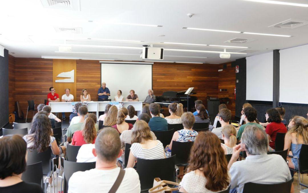 Arranca en l'Alfàs el XXVIII Curso Internacional para Instrumentistas de piano, cuerda y música de cámara