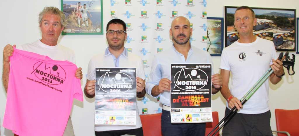 La FENWA y las concejalía de deportes de l'Alfàs del Pi y Altea han presentado la 9ª Caminata Nocturna que será el 16 de Julio.