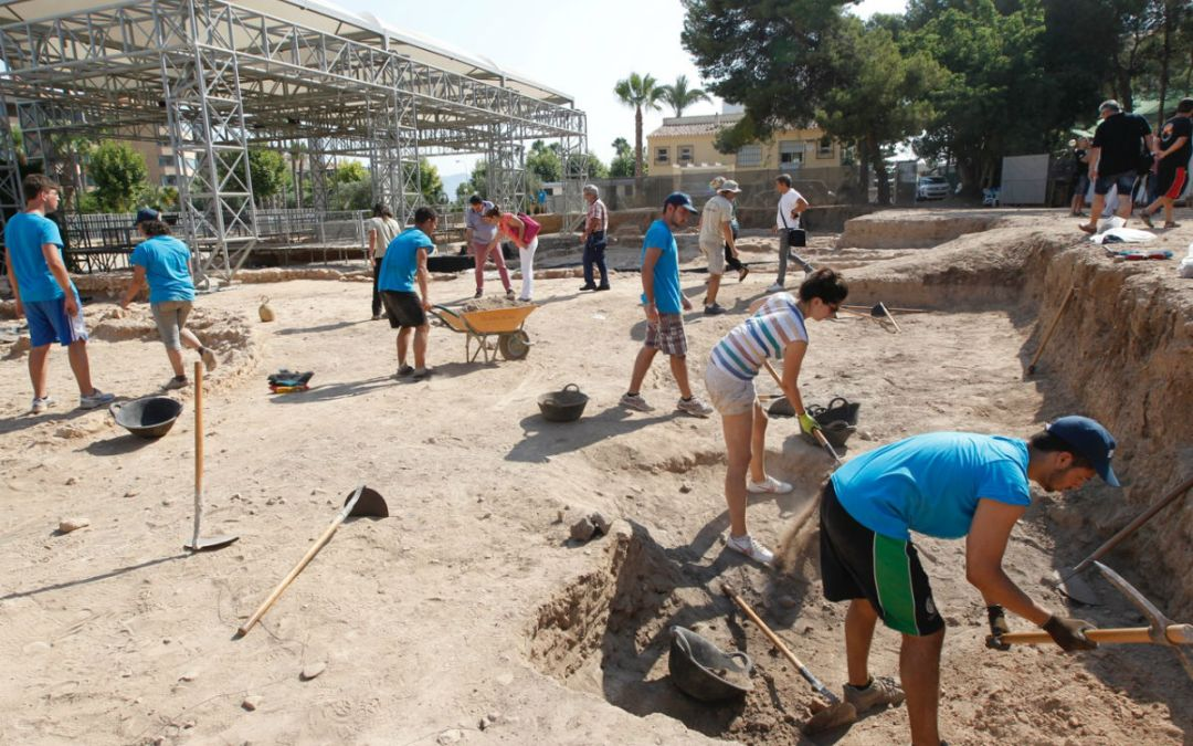 La próxima semana arranca el noveno Campo de Trabajo Internacional Villa Romana de l'Albir