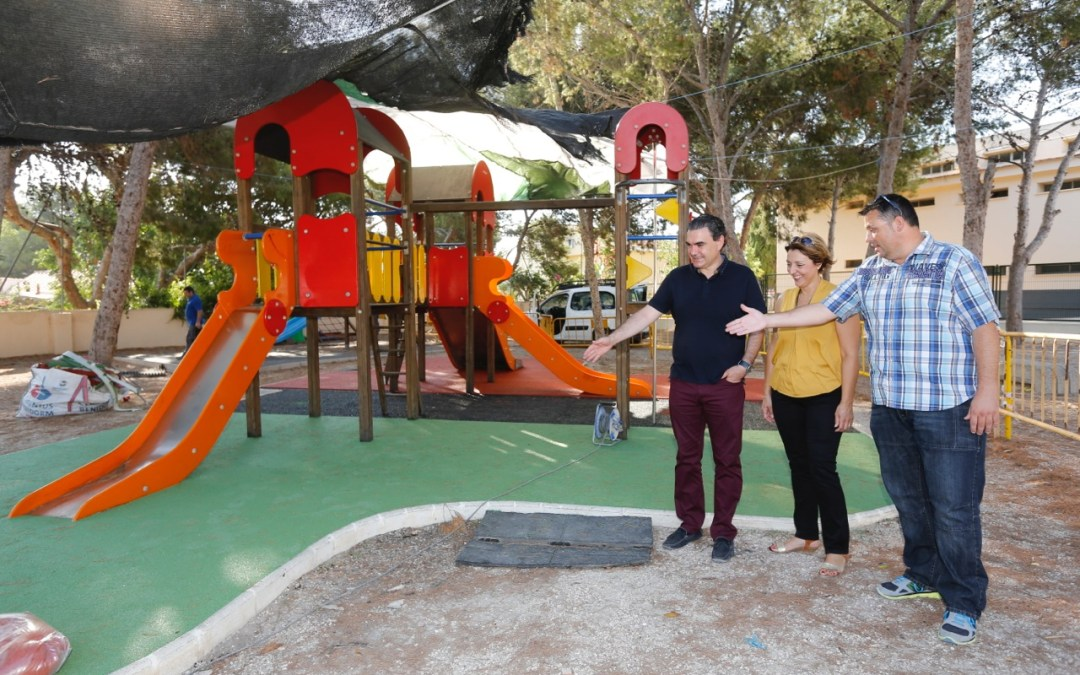 Educación y Servicios Técnicos ultiman los detalles de su 'Operación Vuelta al Cole' con las mejoras en todos los colegios de l'Alfàs