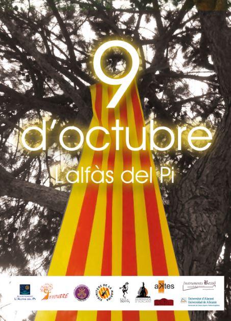 L'Alfàs celebra el 9 d'octubre con un programa de actos que aúna cultura, gastronomía y medio ambiente