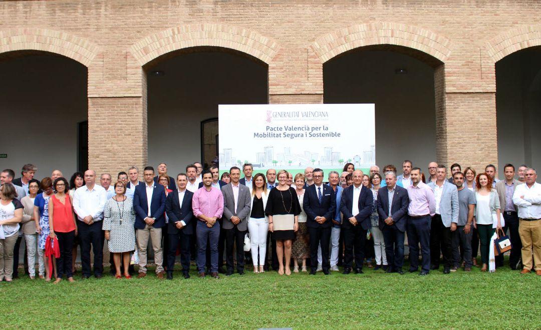 L'Alfàs del Pi se adhiere al Pacto Valenciano por la Movilidad Segura y Sostenible