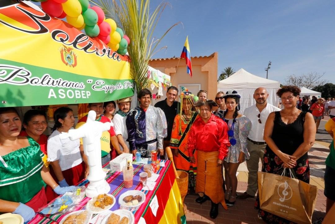 El día Internacional siempre destaca por su colorido