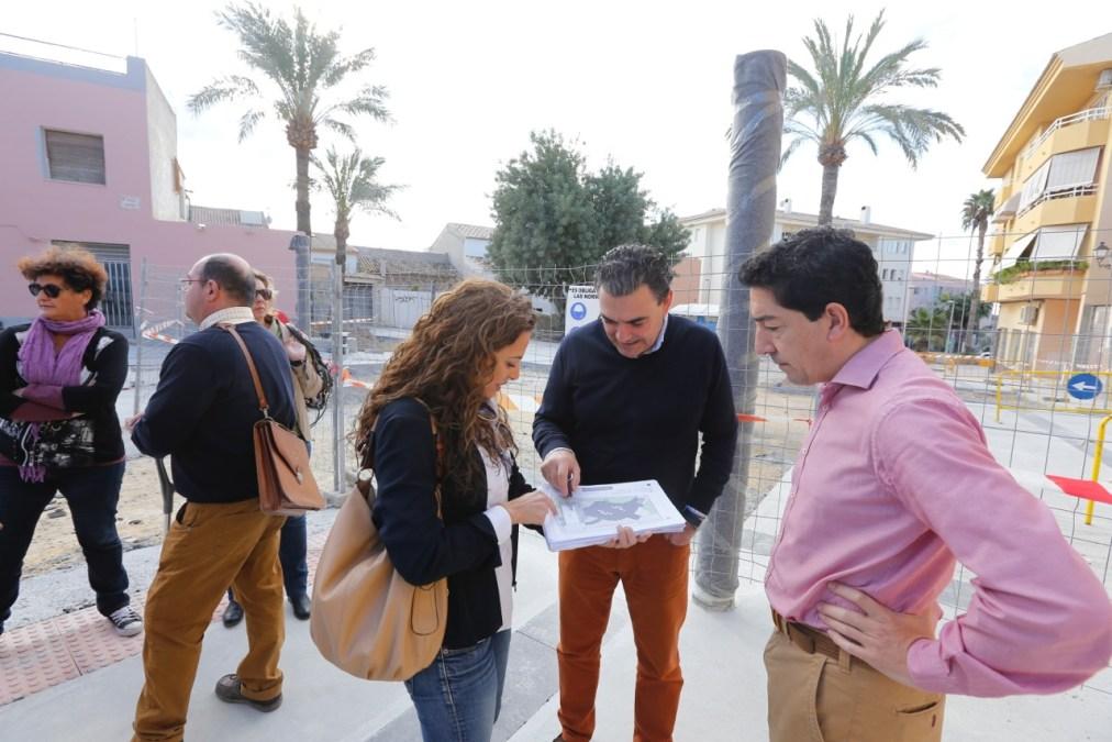 La Plaza de Jaume I va tomando forma con el fin de la primera fase de una renovación que entra en su tramo final