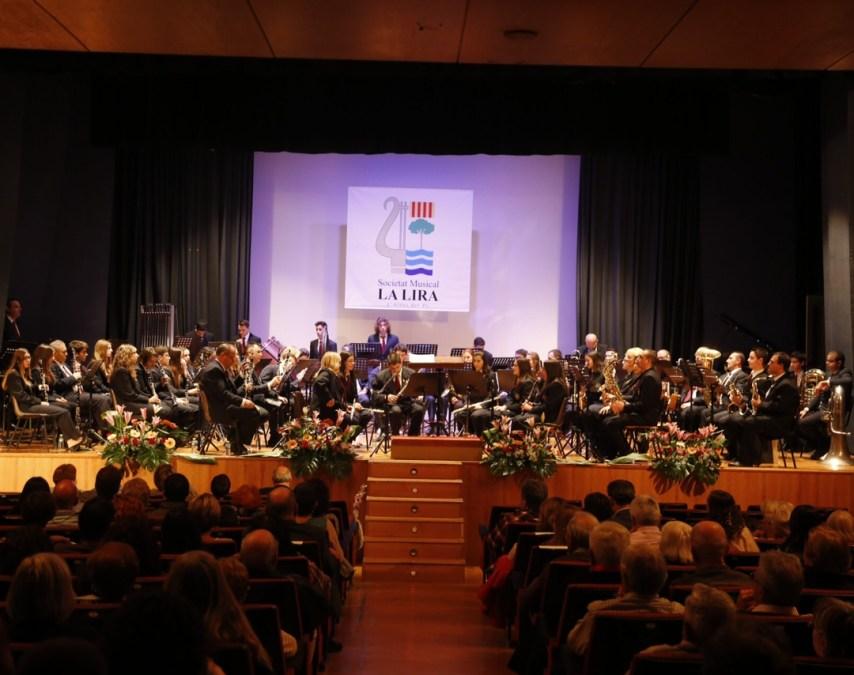 La Sociedad Musical La Lira ofreció su tradicional concierto en honor a Santa Cecilia