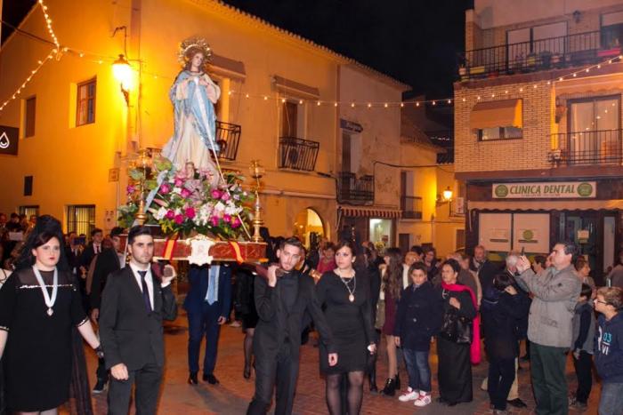 L'Alfàs del Pi se prepara para dos días de actividades y devoción en honor a la Purísima Concepción