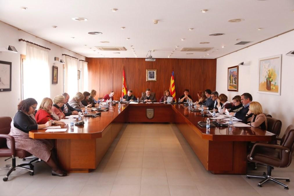 El Pleno de l'Alfàs aprueba el Reglamento Orgánico Municipal