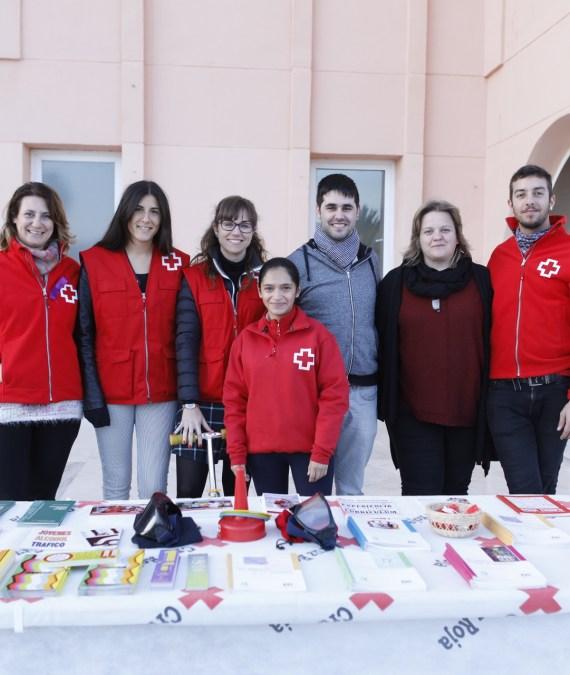Cruz Roja inicia un programa de talleres en el CIJA de l'Alfàs con el fin de captar nuevos voluntarios