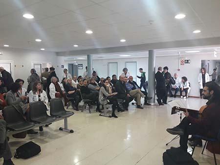 El Ayuntamiento de l'Alfàs respalda el proyecto 'Músicos por la Salud' del Hospital Marina Baixa
