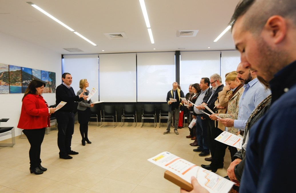 El alcalde de l'Alfàs presenta el proyecto de adhesión a la Red Española de Ciudades Amigables con las Personas Mayores