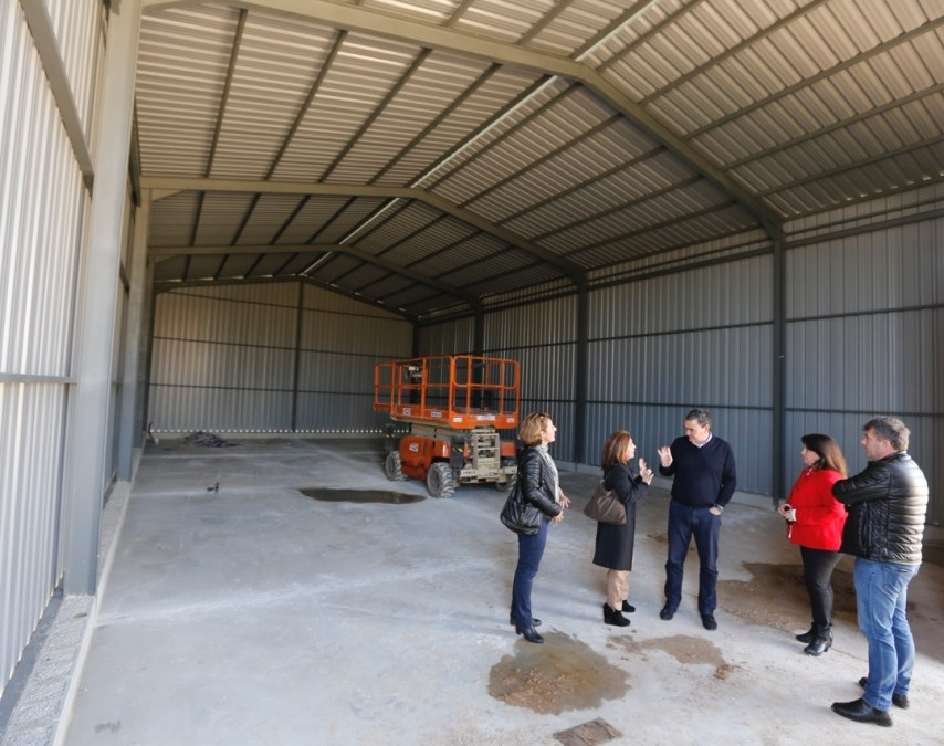 El Ayuntamiento de l'Alfàs construye una nave para la realización de talleres de empleo
