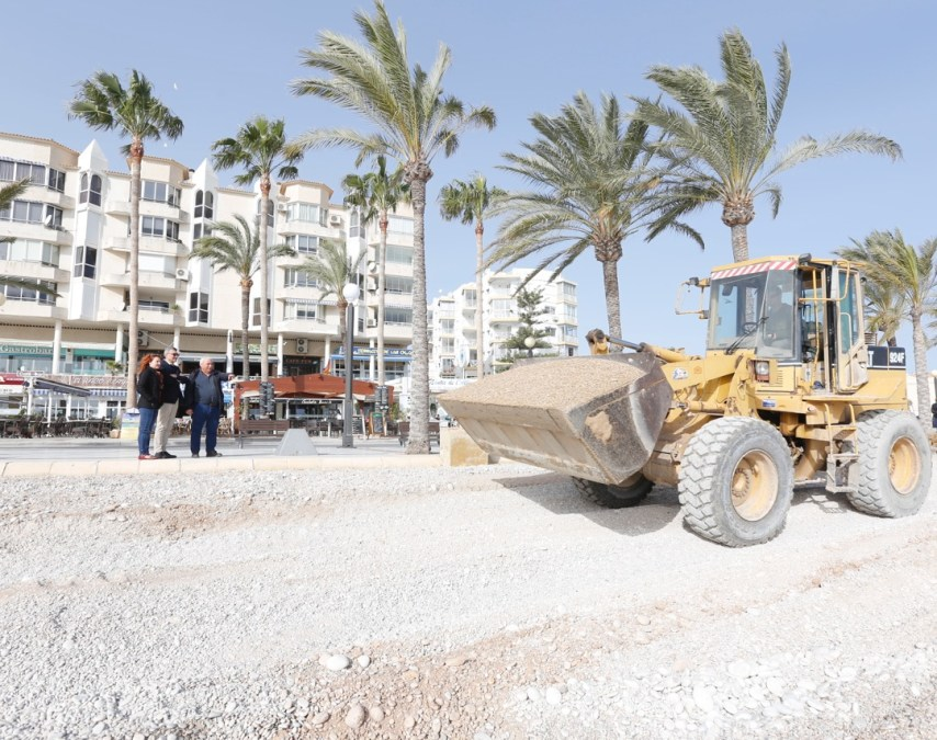 La GVA concede a l'Alfàs una subvención de 24.000 euros por los daños del temporal de enero