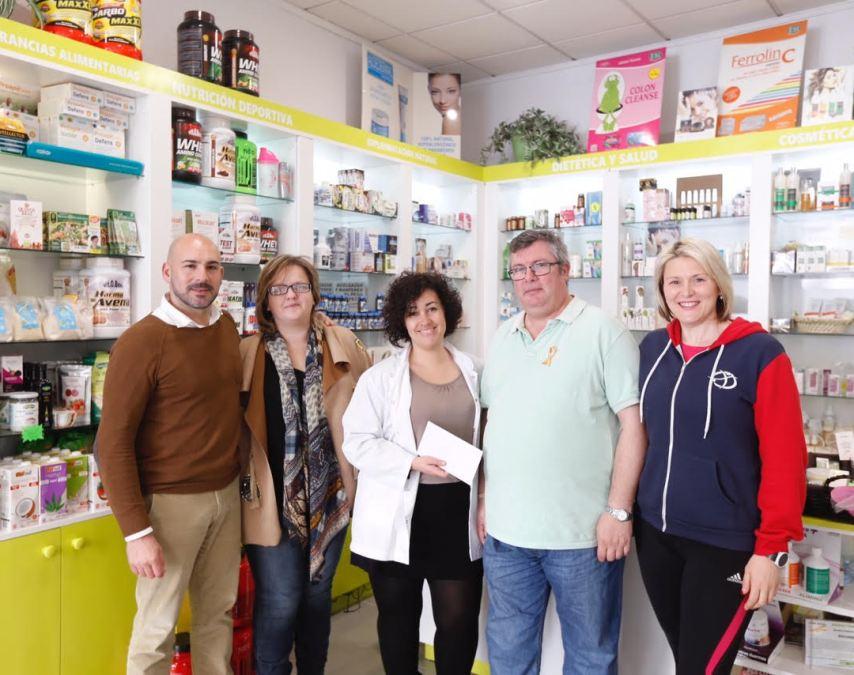 La cuarta Jornada de Nutrición, Deporte y Salud recauda 200  euros para Aspanion