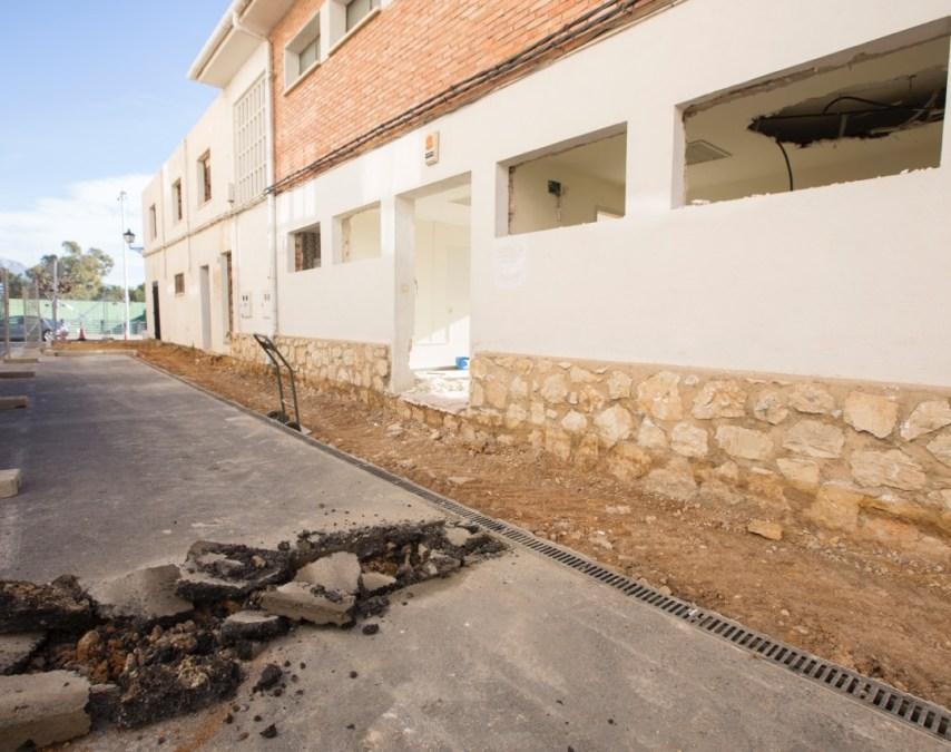 Arrancan las obras de remodelación del parque de les Escoles Velles