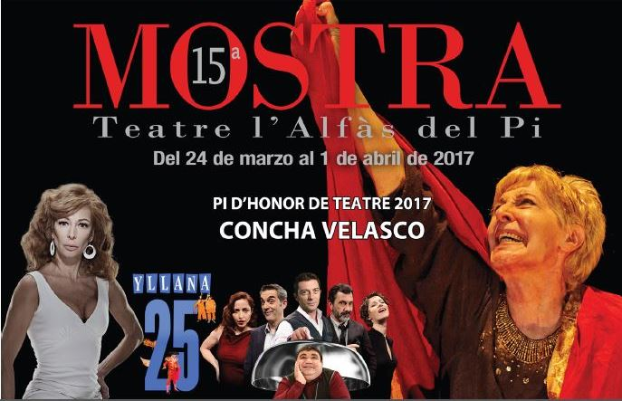 Hoy salen a la venta las entradas para la XV Mostra de Teatre de l'Alfàs