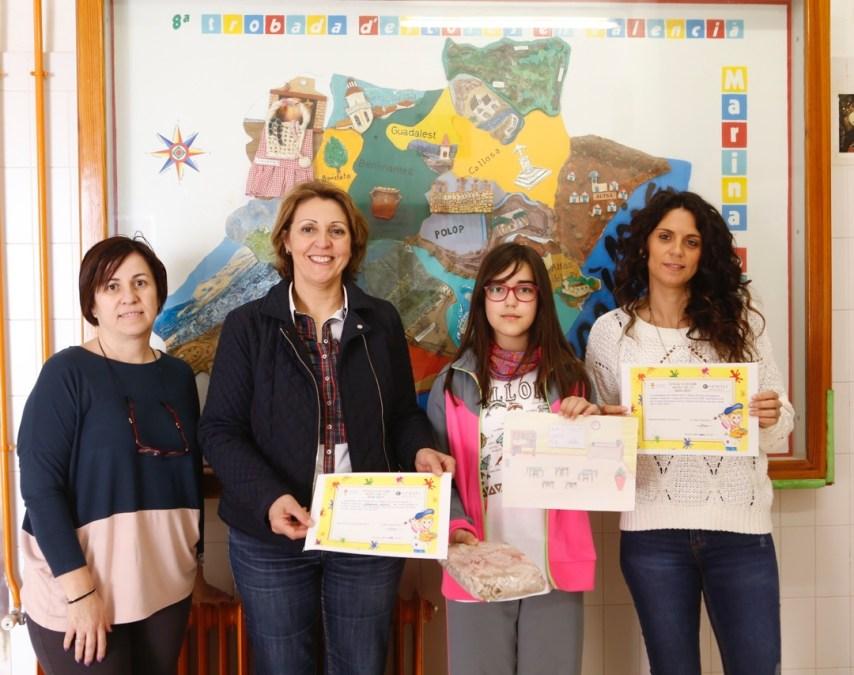 Más de 200 niños de tres centros educativos de l'Alfàs del Pi participan en el concurso 'Dibuja tu cole' de Ofiespriu Escolar