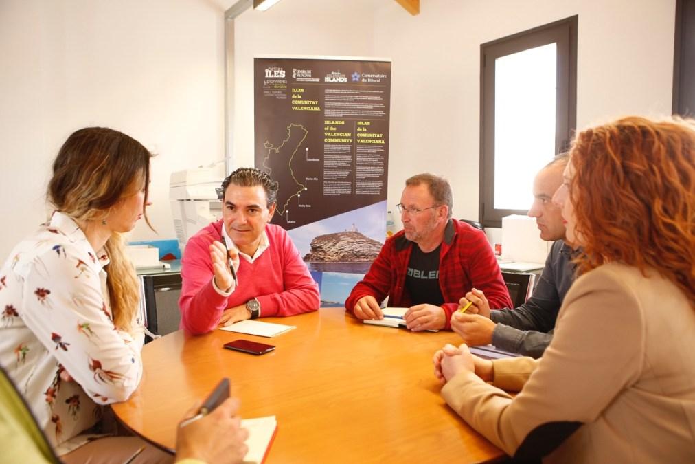 Vicente Arques y José Ramón Viejo mantienen una primera toma de contacto tras el nombramiento del nuevo director del Parc Natural