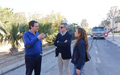 Las obras de mejora del Bulevar dels Músics finalizarán en un mes