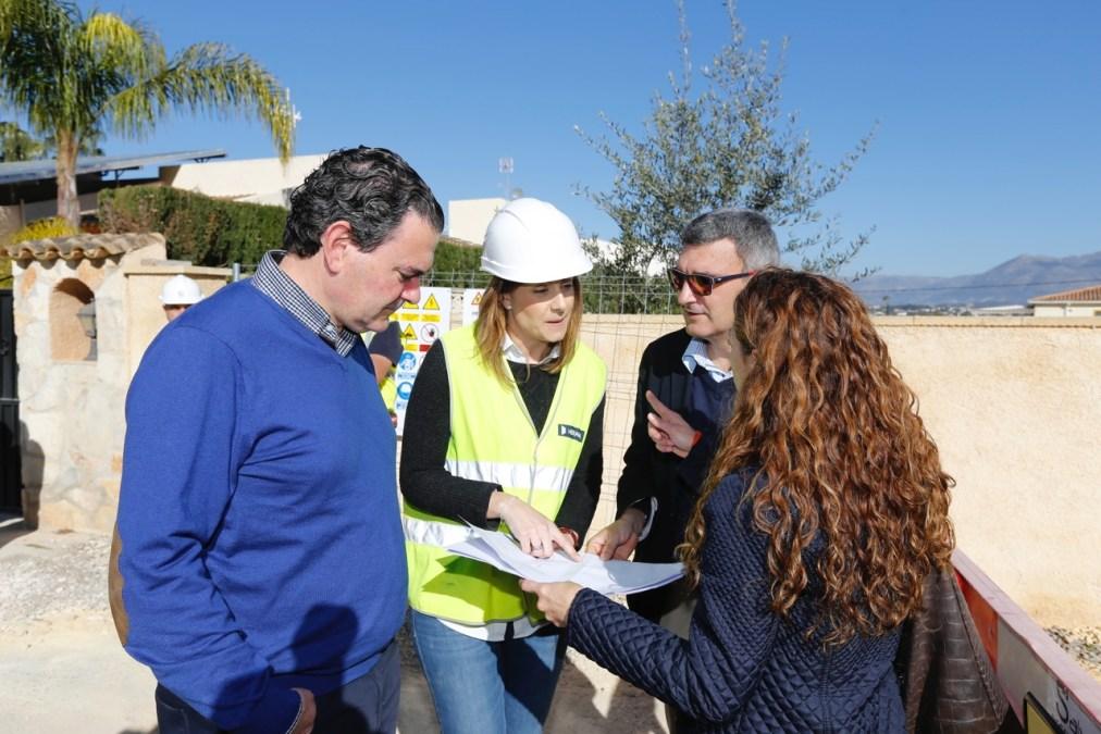 Arrancan las obras de ampliación de la red de aguas pluviales y residuales en las calles Orió y Eurim