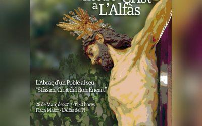 Este domingo l'Alfàs celebra el 160 aniversario de la llegada del Santísimo Cristo del Buen Acierto